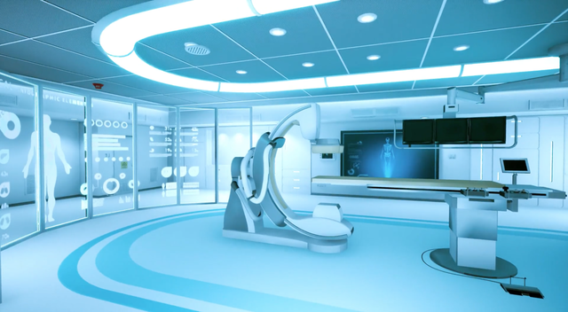 Philips Interventionroom demo VR 1