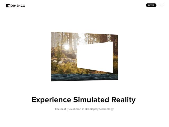 Dimenco Craft CMS powered website Homepage intro jpg