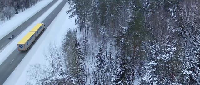 Ewals Cargo Care sneeuw