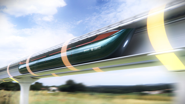 Hardt - Hyperloop - Key Art 02 - 3D render realistisch