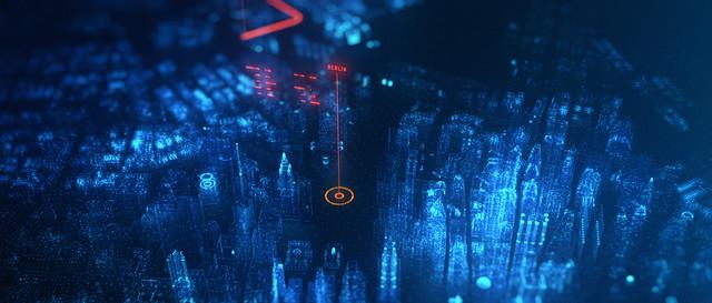 Kempen Transport Bedrijfsfilm HUD display 3 D motion Graphics