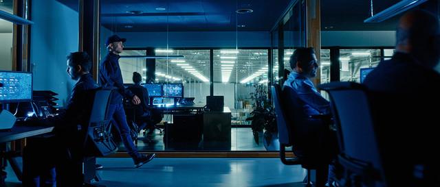 Kempen Transport Bedrijfsfilm Het kantoor met aangepaste interfaces