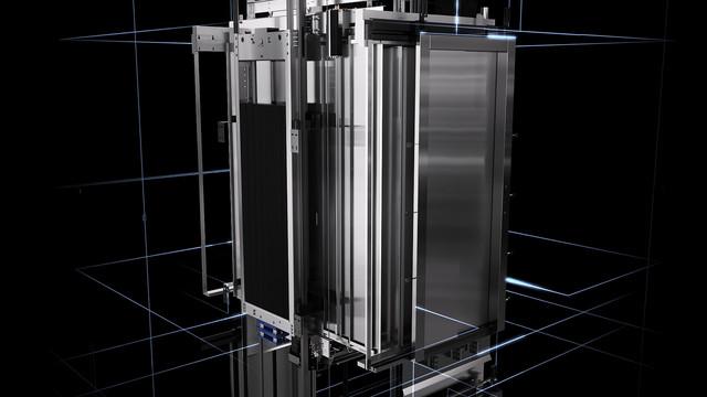 Mitsubishi Elevator Europe MOVE 04 3 D animation technical render