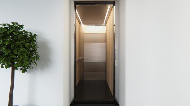 Mitsubishi Elevator Europe MOVE 08 3D animatie stijl 2