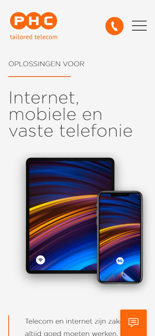 Oplossing Internet mobiel en vaste telefonie mobile