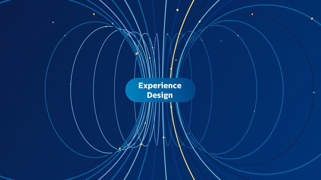 Philips Experience Design Guide Motion Graphics Circles in 3 D space