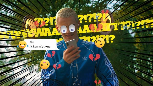 Telefoon in je zak Ogen op de weg Stichting Yannick VFX to the max