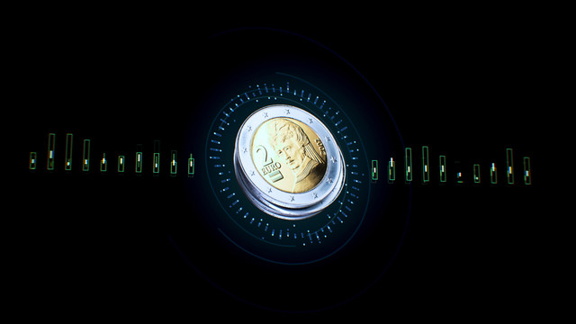 TNO Care for Data Techruption Coin 3 D animatie