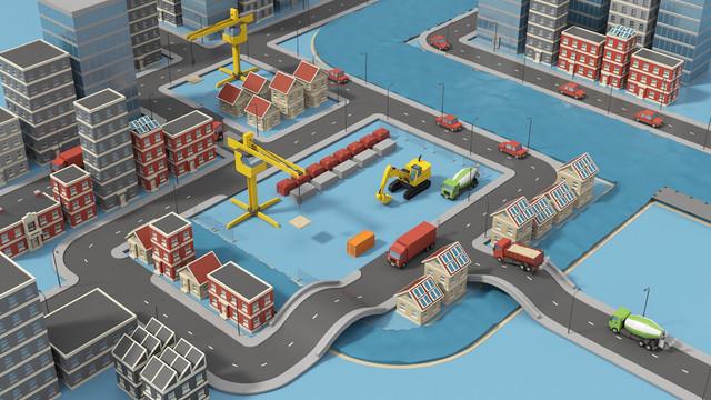 TNO Duurzame bouwlogistiek Bouw onder druk in de stad