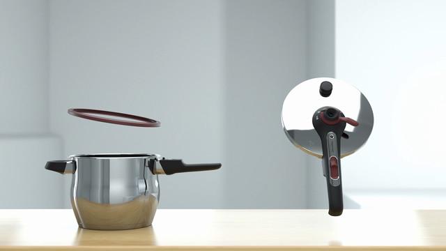 Tupperware CS Pressure Cooker Cleaning