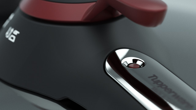 Tupperware CS Pressure Cooker Close up
