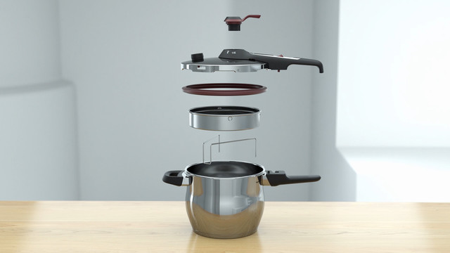 Tupperware CS Pressure Cooker Elements