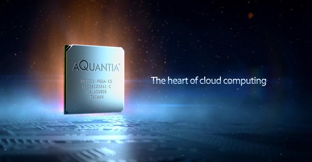 Aquantia 3 D visuals heart
