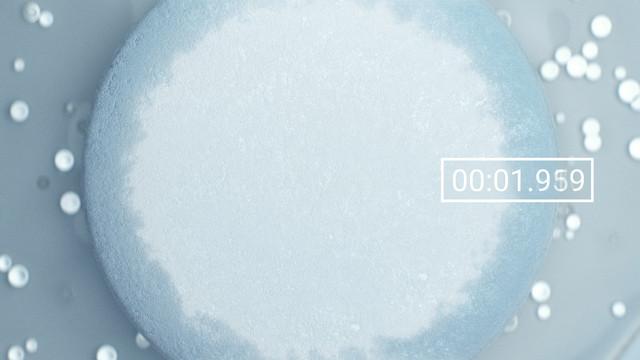 DFE Pharma Super Tab 50 ODT Superdisintegrant 3 D animation