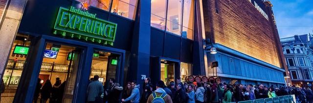 Heineken experience outside