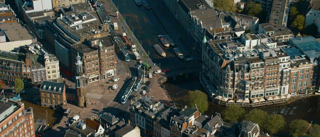 Hyde Park Amsterdam Aerial Kruising
