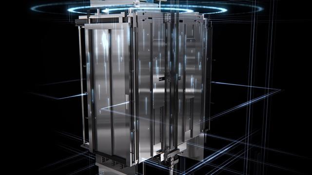Mitsubishi Elevator Europe MOVE 06 3D animatie remote monitoring