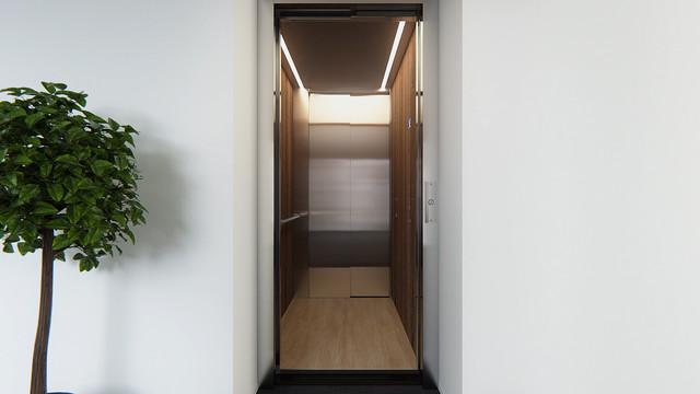 Mitsubishi Elevator Europe MOVE 07 3D animatie stijl 1
