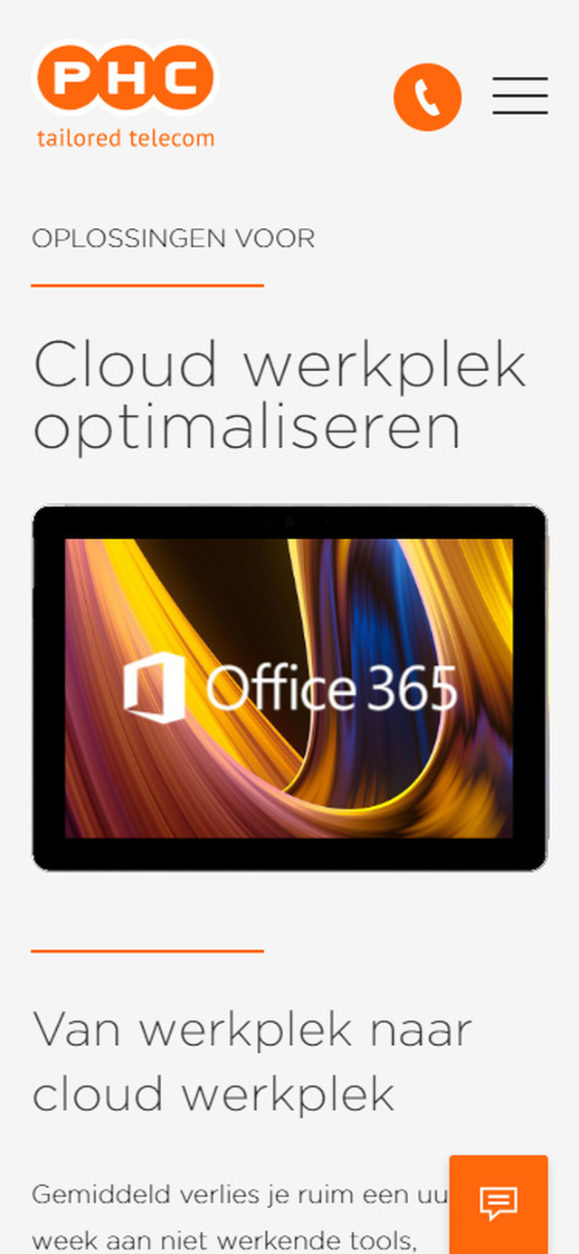 Oplossing Cloud werkplek optimalisatie mobile