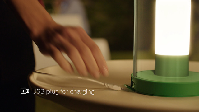 Philips Abelia LED Portable Lantern USB charging