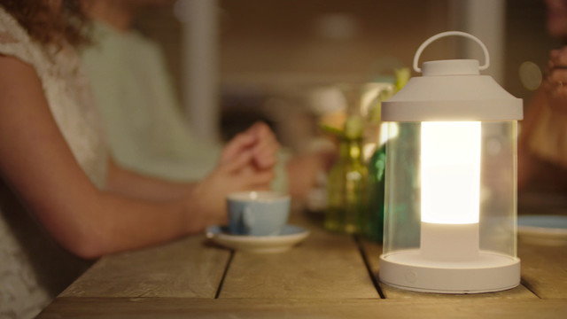 Philips Abelia LED Portable Lantern close up