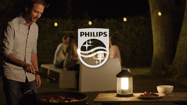 Philips Abelia LED Portable Lantern eindshot