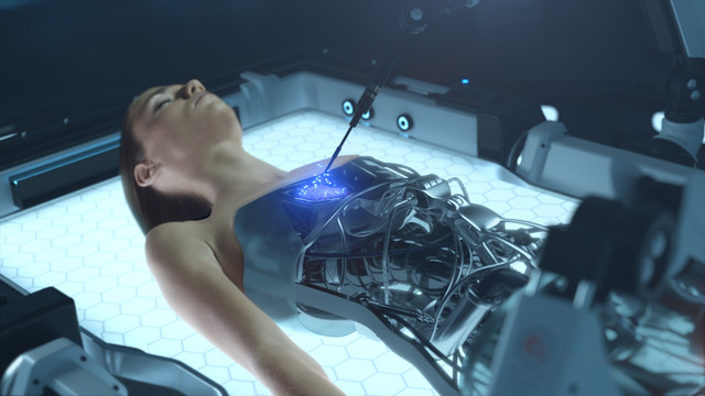 Sioux Cyborg 3D Animation Vfx Twisted