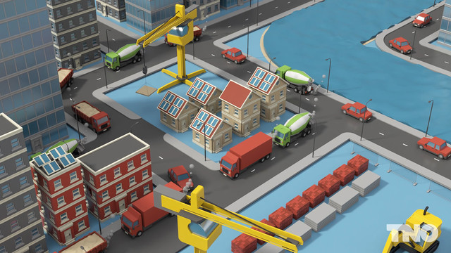 TNO Duurzame bouwlogistiek Materiaal tekorten