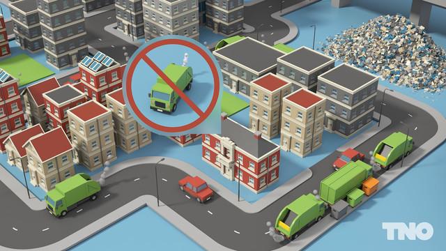 TNO Slimme Afvalinzameling Vrachtwagenverbod
