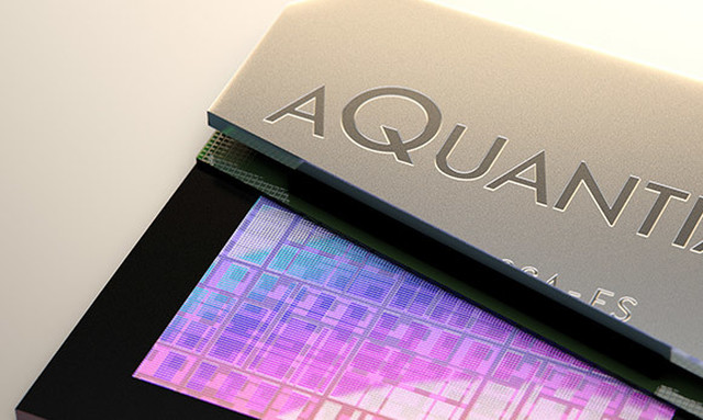 Aquantia 3 D visuals chip reveal