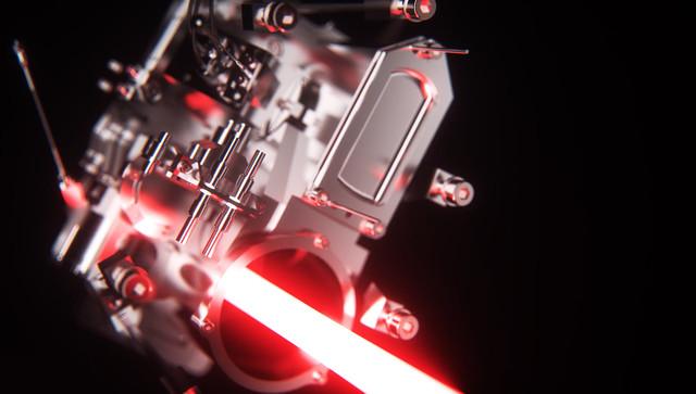 3D animatie Laser Product visualisatie