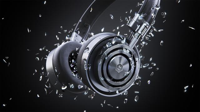 Headphones 3D - CGI beeld