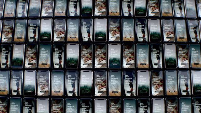 TNO Veilig data delen in de zorg met behoud van privacy Phone Wall