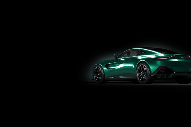 Automotive 3D CGI render van Aston Martin