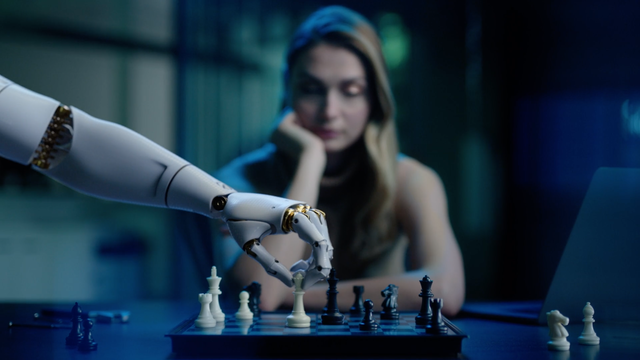 Enter chess robot twisted