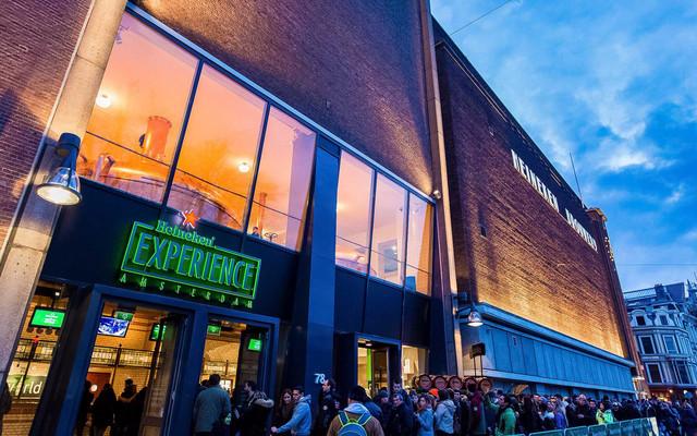 Heineken Experience shop