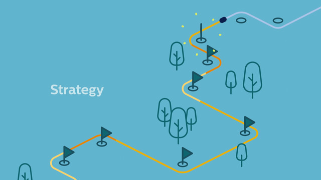 Philips Business System Strategy Motion Graphics animation
