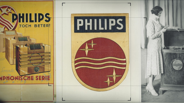 Philips Shield Animatie philips history