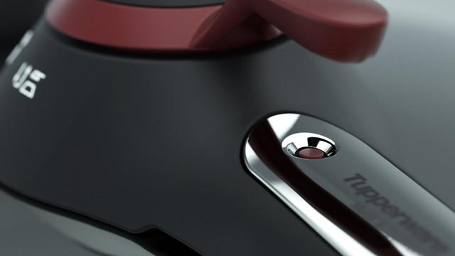 Tupperware CS Pressure Cooker Close up
