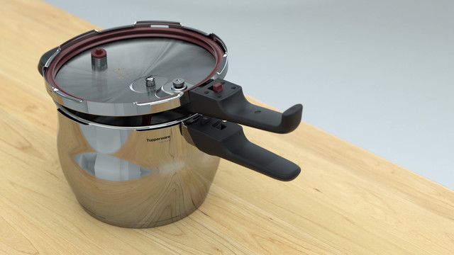 Tupperware CS Pressure Cooker Storing